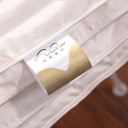Mercury水星家紡 家樂蠶絲冬被加厚蠶絲被芯保暖床上用品定制