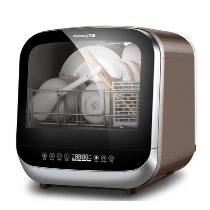 Joyoung/九阳X5台式家用免安装全自动迷你智能烘?#27801;?#33740;洗碗机定制
