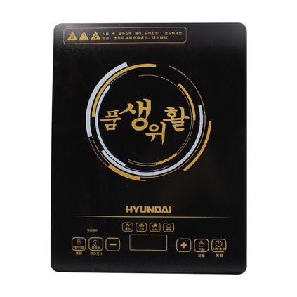 HYUNDAI 韓國現代  HYTL-8020 炫黑家用觸摸式多功能電陶爐電磁爐定制