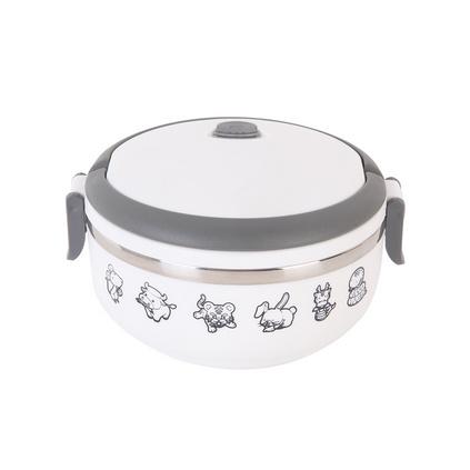 Debo 德鉑 沃爾保溫飯盒單層飯盒便當盒700ml 不銹鋼內膽德國工藝 DEP-170定制