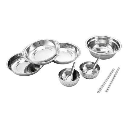 Debo 德鉑 里薩廚房用具餐具十一件套碗筷勺碟盤實用多用  DEP-132定制