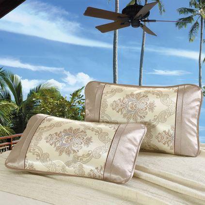 潔帛 冰絲夏涼枕套夏季涼席枕套定制