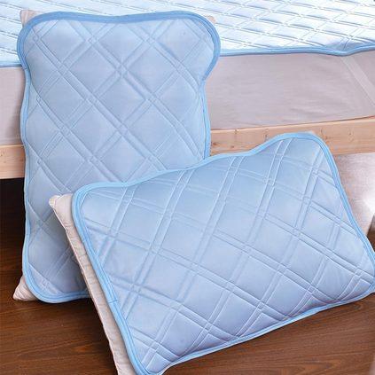 潔帛 涼感透氣可水洗枕墊(一對)定制