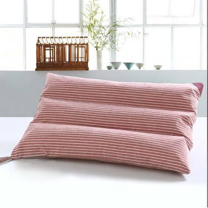 洁帛 水洗棉枕 成人枕 自带枕套波浪枕头定制