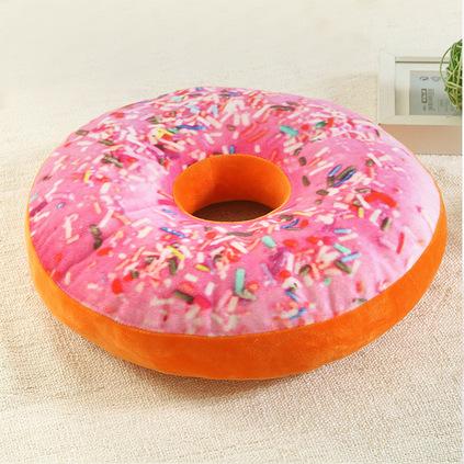 洁帛 甜甜圈舒适坐垫 直径40cm坐垫靠垫定做