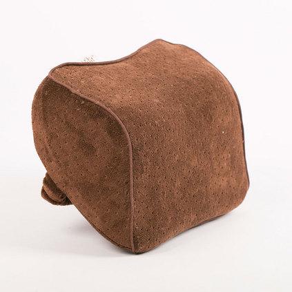 洁帛 记忆棉精品车颈枕 行车使用车颈枕 慢回弹护颈枕定制