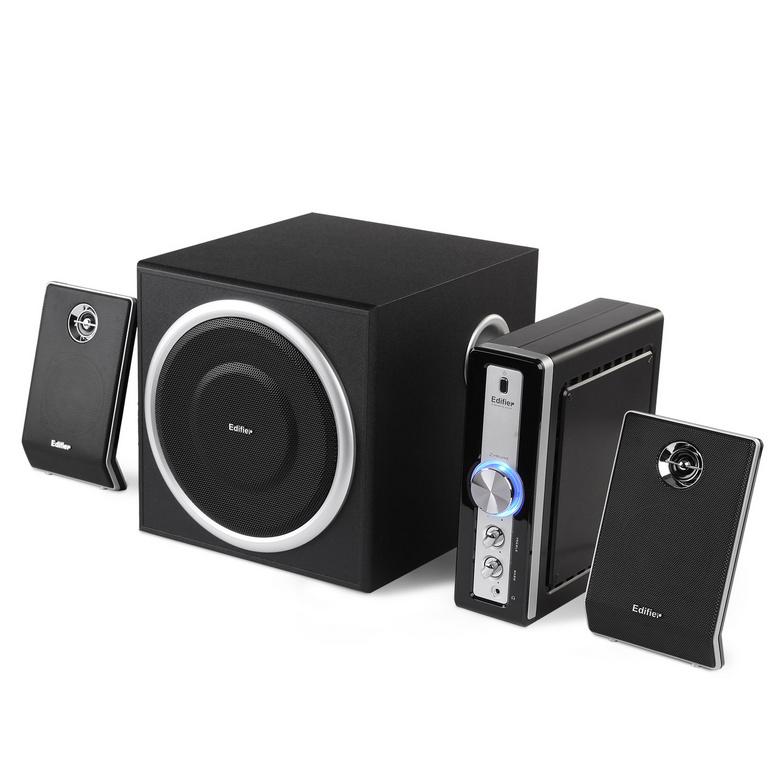 Edifier 漫步者  C1 2.1独立外置功放多媒体音箱电脑音响定制