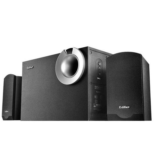 EDIFIER 漫步者 R206P 多媒体音箱 2.1声道 U盘播放  电脑音响定制