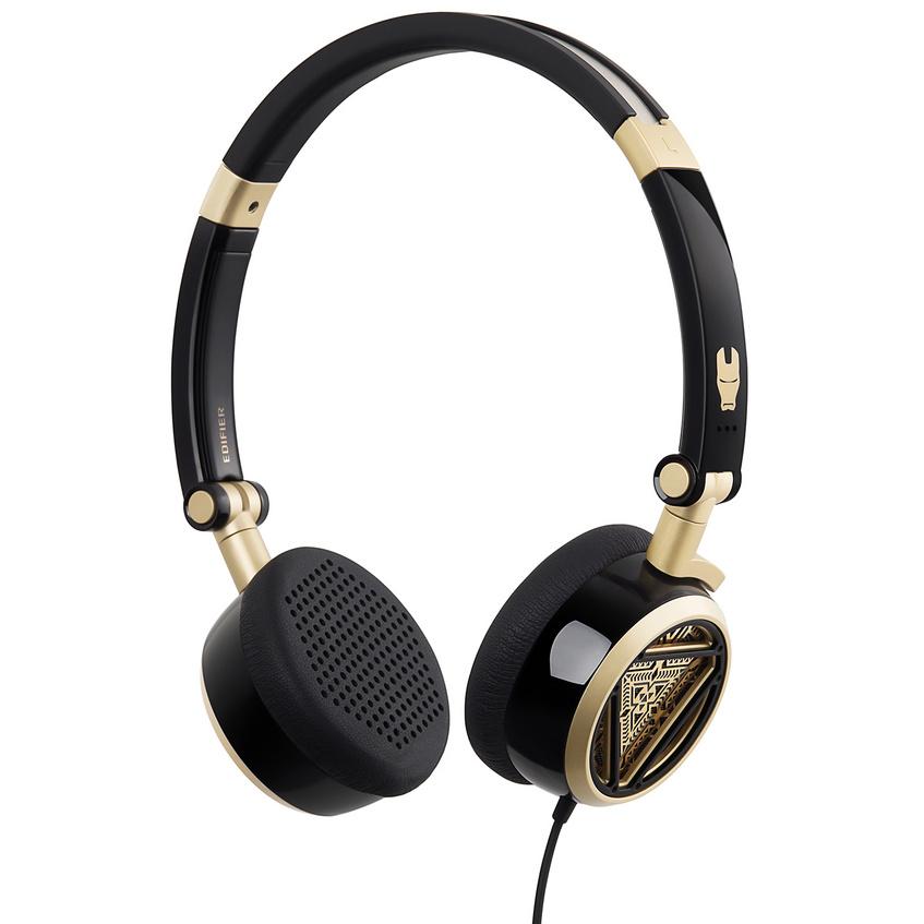 Edifier 漫步者  H691 可折叠立体声头戴式音乐耳机漫威钢铁侠定制款