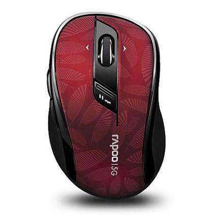 雷柏7100P無線鼠標定制 筆記本臺式機電腦游戲辦公5.8G光電無限鼠標