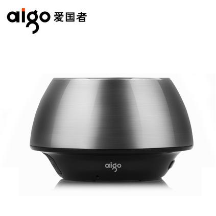 Aigo爱国者 SP-B200蓝牙无线免提通话FM收音机插卡电脑便携音箱定制