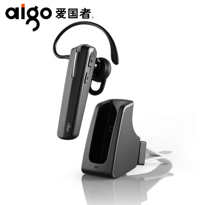 Aigo愛國者 V20耳塞式開車立體聲入耳掛耳式車載4.0無線藍牙耳機定制