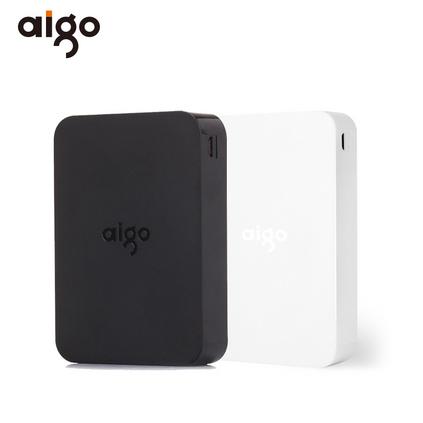 aigo愛國者10000毫安商務大容量移動電源充電寶定制