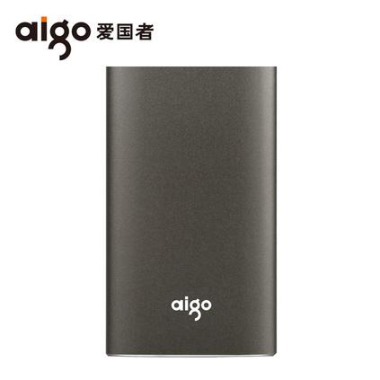 爱国者固态移动硬盘120g高速usb3.0金属迷你超薄SSD手机电脑两用移动硬盘定制