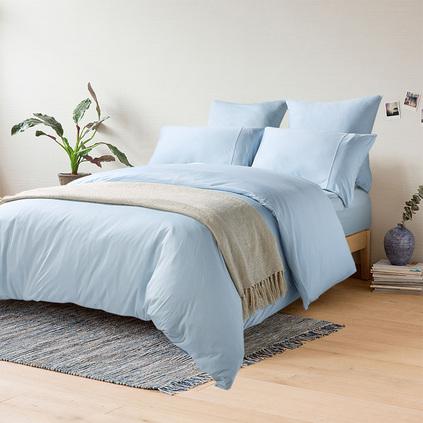ABS愛彼此 Alston絲柔莫代爾6尺針織素色床上用品四件套定制