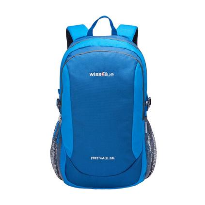 Wissblue 維仕藍  WB1110雙肩旅行28L容量登山包旅行包休閑折疊雙肩背包定制