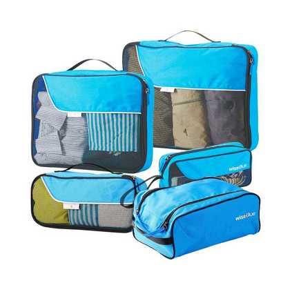 Wissblue 維仕藍  TG-WT2023-B旅行防塵衣物整理收納袋5件套定制