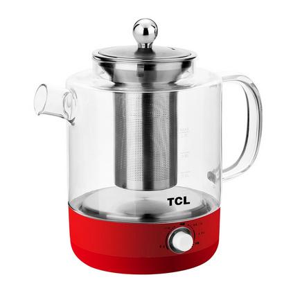 TCL TA-JM10YS1 1L液体加热养生壶全自动多功能加厚玻璃热水壶定制