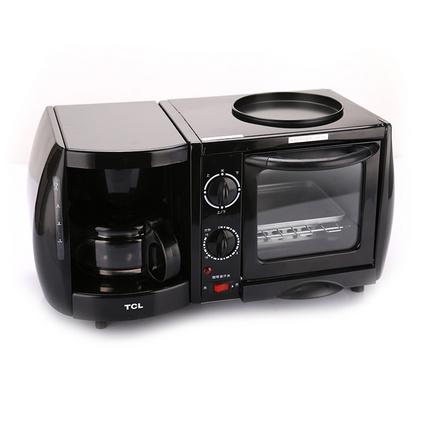 TCL 食尚·早餐吧 多功能電烤箱咖啡烘焙機三合一早餐機 定制TKX-J05051A