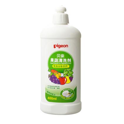 pigeon 貝親 果蔬清洗劑定制 嬰兒果蔬清潔液/水果蔬菜清洗精 400ml MA64
