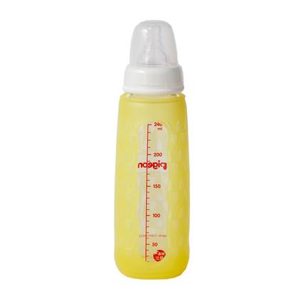 pigeon 貝親 標準口徑玻璃奶瓶硅膠保護套定制 BA107-108