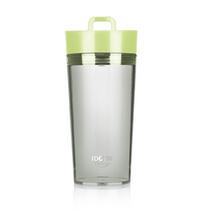 Foruor IDO 创意个性透明 便携水杯香草物语转盘杯定制