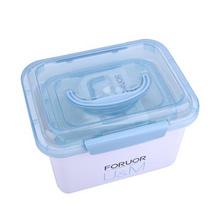 法國ForuorU&M 家用保健收納箱三件套定制