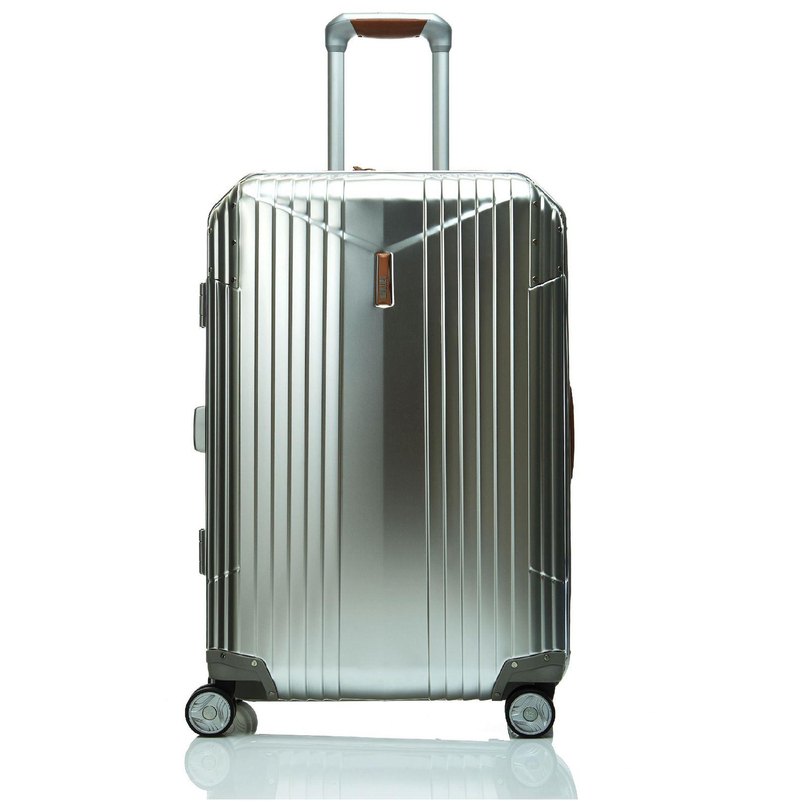 Samsonite新秀 Hartmann品牌四輪拉桿箱時尚旅行箱定制銀色20寸G9508001