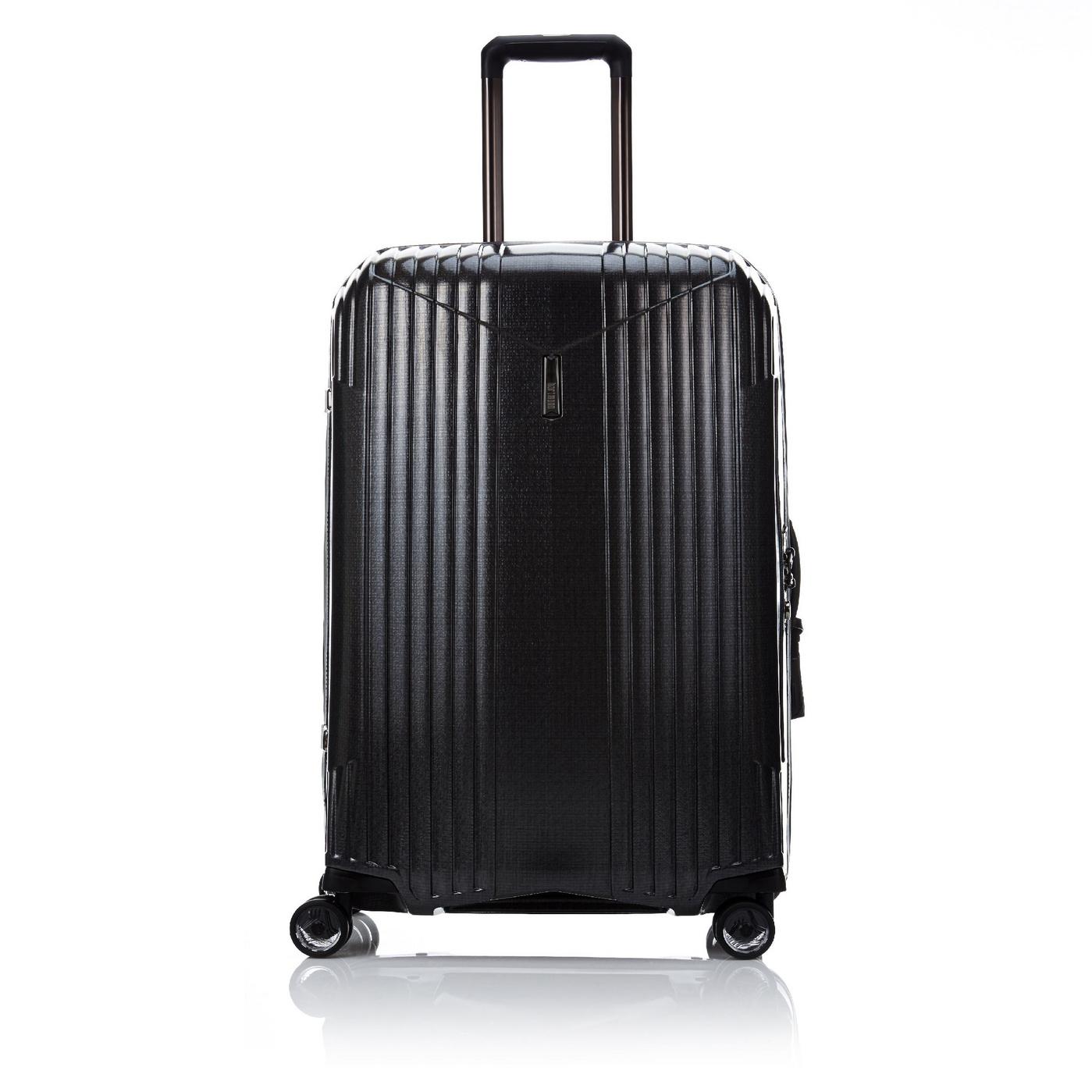Samsonite 新秀麗Hartmann系列品牌四輪拉桿箱時尚旅行箱定制黑色20寸G9709201