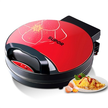 蘇泊爾Supor 電餅鐺家用煎烤機雙面加熱電餅檔蛋糕煎餅機定制