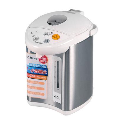 Midea 美的 電熱水瓶 自動斷電食品304不銹鋼防燙電熱水壺 PF501-40G定制