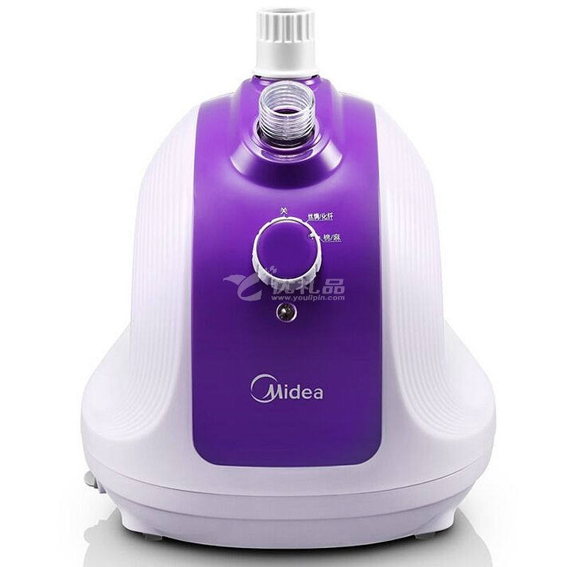 美的(Midea)1.5L 单杆 蒸汽挂烫机 家用手持/挂式电熨斗YGJ15B3(紫色)