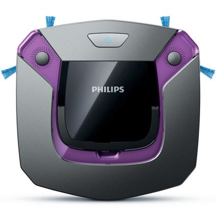 飞利浦(PHILIPS)扫地机器人FC879682家用智能纤薄擦地吸尘器吸拖一体机定制