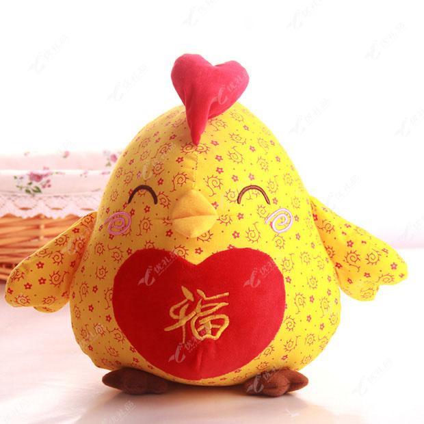 小鸡玩偶公仔 毛绒玩具 生肖鸡年货
