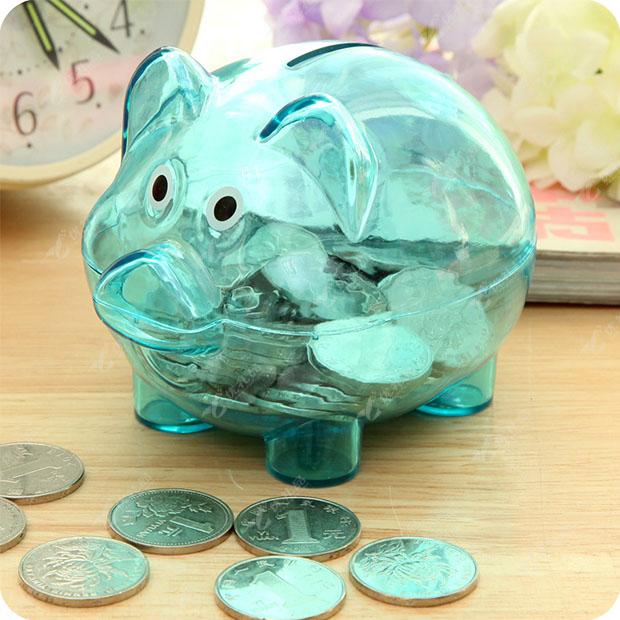 精明理财猪储钱罐