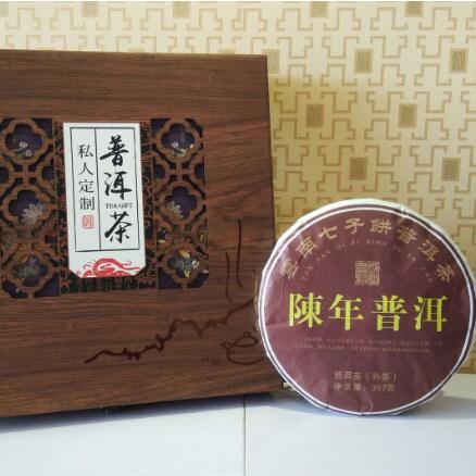普洱茶+月饼礼盒
