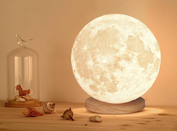 3D打印触摸月球灯