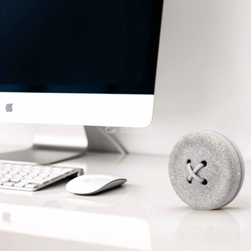Novomill e-Button纽扣便携蓝牙音箱