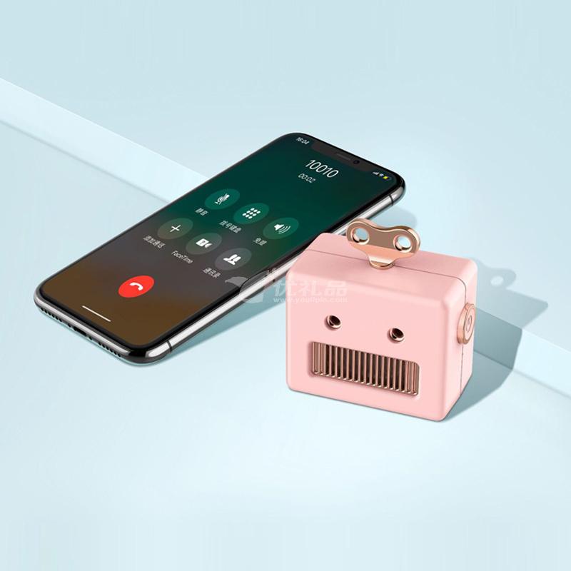 可爱机器人蓝牙音箱