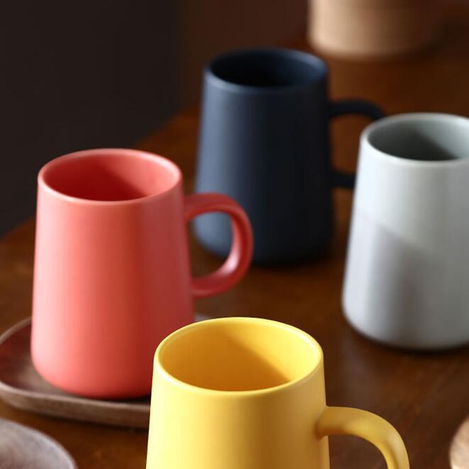 北欧陶瓷马克杯