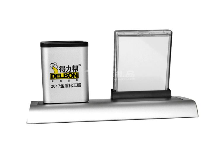 七彩万年历笔筒/多功能电子笔筒/大广告位 _1