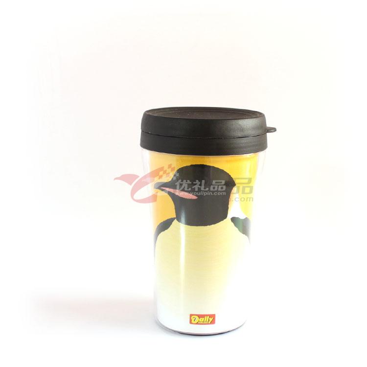 雙層PP廣告杯(可換彩頁)220ML