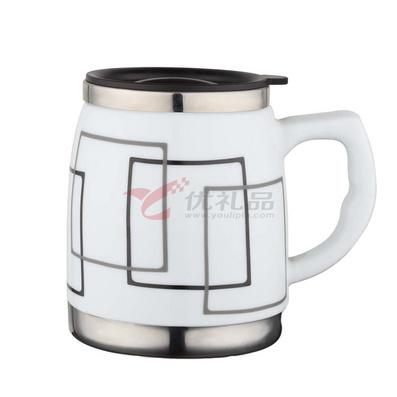 廣告杯 磁鋼杯 450ml