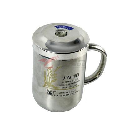 佳嘉麗佳麗雙層不銹鋼磁化杯350ml