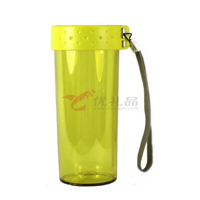 單層隨身杯帶掛繩(520ML)