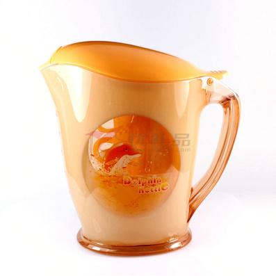 海豚雙色水壺(一壺三杯) 2L