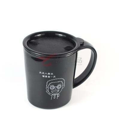 黑白配情侣水杯(盒装)