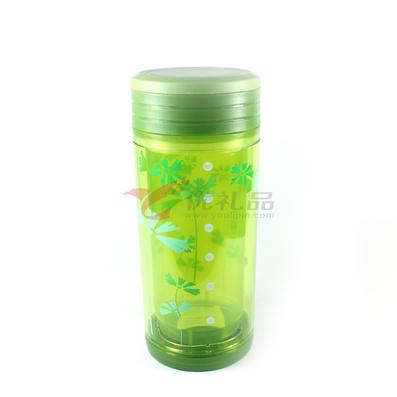 PC隔熱茶水杯(大號)口杯、直身杯