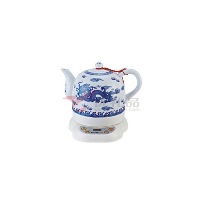 青花青龍微電腦陶瓷電熱水壺