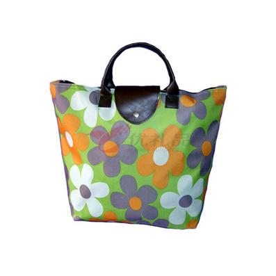 印花牛津布折疊購物包/單肩包/旅行包/手提包定制